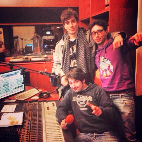 live @Radio Onda Novara