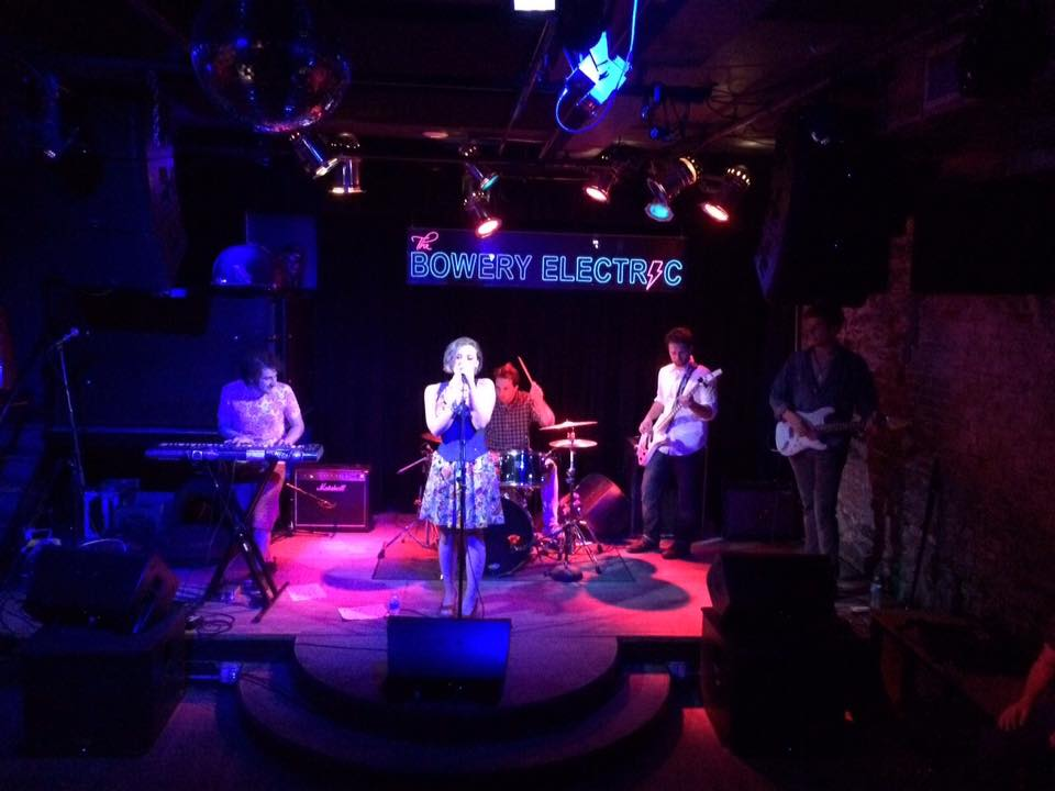 Oh Mega! live @Bowery Electric