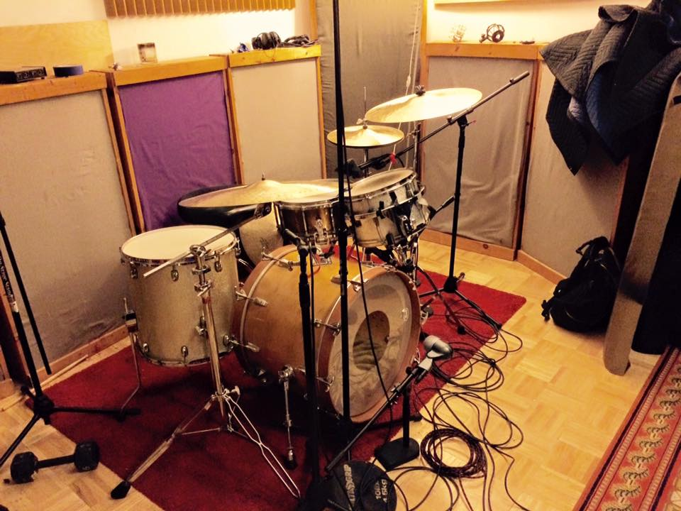 tracking drums for Psycobaby's Rough Start EP