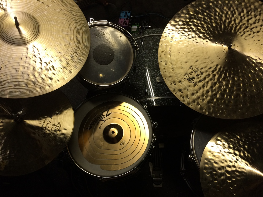 recording some soundtracks with beautiful sounding cymbals