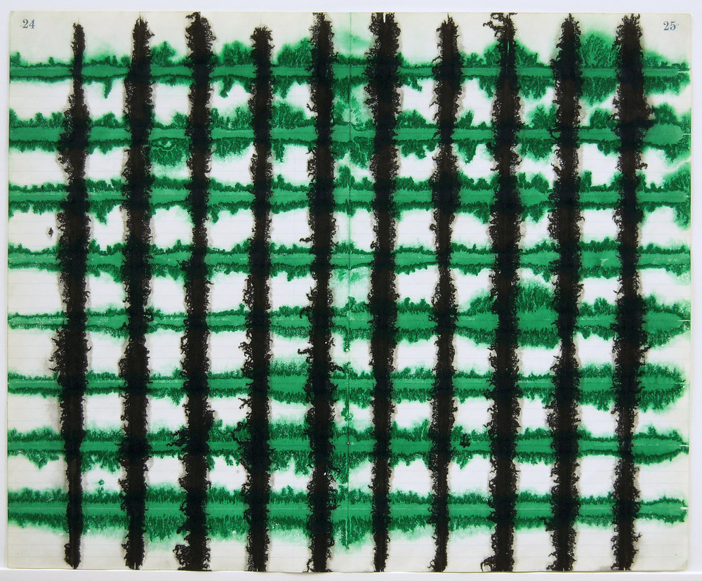 Green Black Lattice 2010