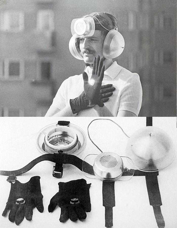 The Personal Instrument (1969),Krzysztof Wodiczko