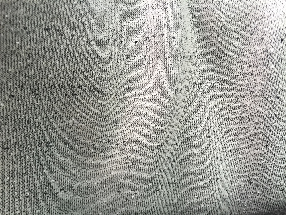 Heather Grey Boucle' (Not Fleece)