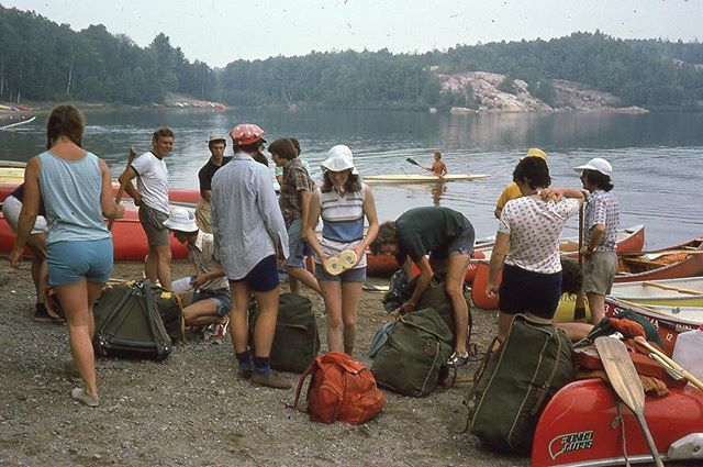 So many lovely vintage photos coming out before the 60th this Saturday. Be apart of the heritage! . . . . . . #uoft #uofthistory #vintage #college #outdoors #club #canoe #camping #torontoheritage #heritage
