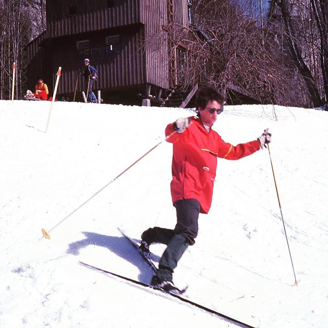 We can't wait to see y'all tomorrow! -Erika & Aisalyn . . . . . . #reunion #uoft #uoftalumni #ski #vintage #winter #heritage #greybruce #anniversary