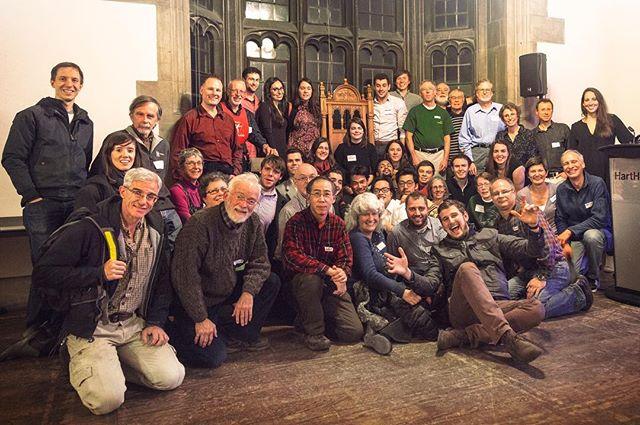 Some of the amazing UTOCers in reunion at the 60th anniversary. 🎉😘 . . . . . . #uoft #uoftalumni #harthouse #outdoors #anniversary #60th #kolapore #utoc #welovetheoutdoors #findyourselfoutside #discovertheoutdoors #treehugger