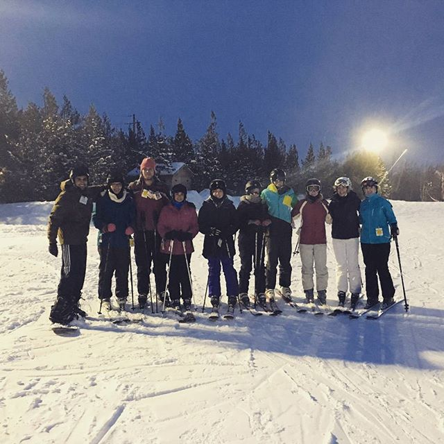 UTOC & some U of Guelph folks up at Blue Mountain this past weekend!