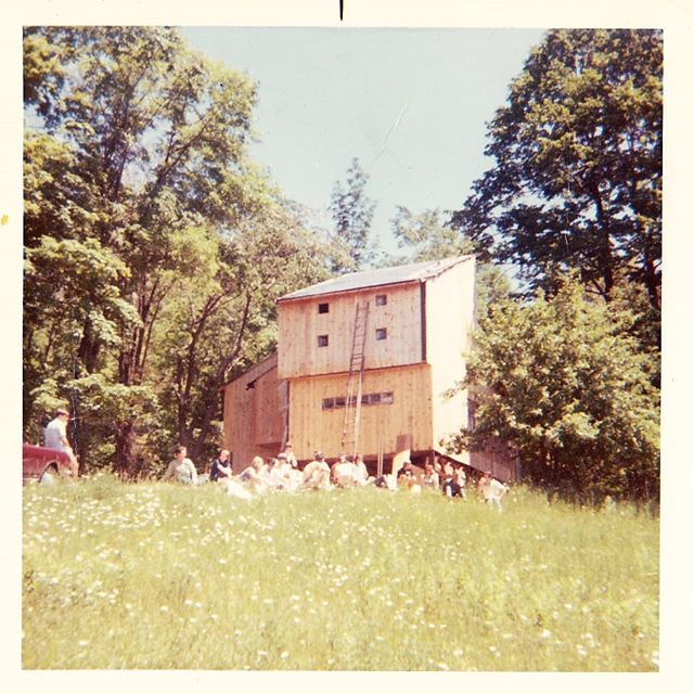 Did you know it's the cabins 50th birthday this year? Built back in 1968, it's been giving us years of adventures & good times!  #utoc #uoft #heritage #greybruce #birthday