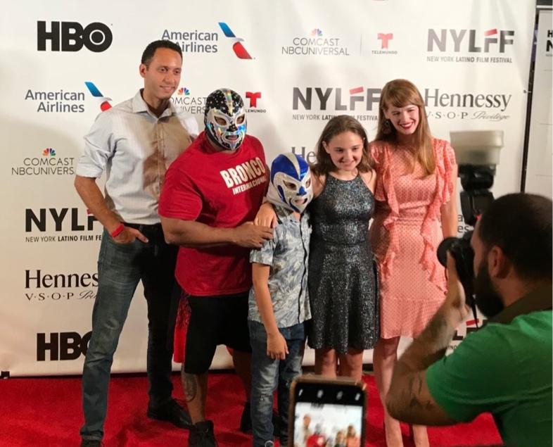 (left to right: Elliot Villar; Bronco Internacional; Jayden Toledo; Delphina Belle and Christy Escobar