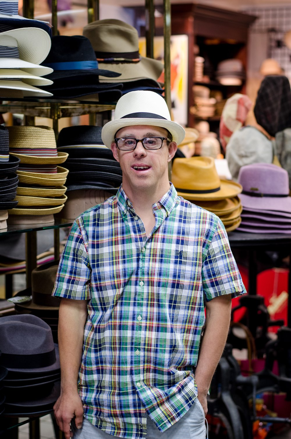 Art Show at the Hatbox May 20 from 7-9pm - Our friends at Austin's famous Hatbox downtown is showcasing Brandon's art again! Come join us for classic hats, music and reception, along with many of Brandon's new pieces.