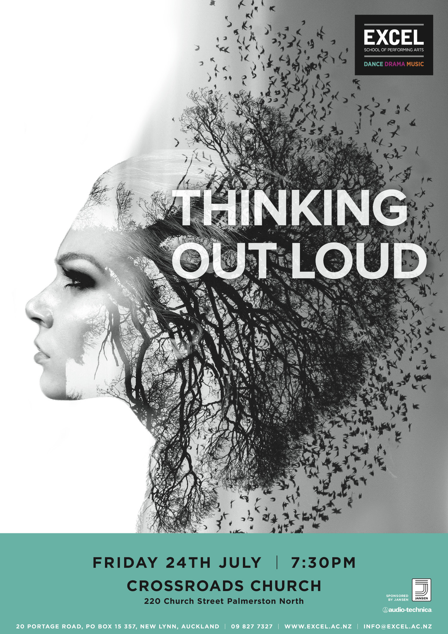 thinking out loud excel school of performing arts crossroads