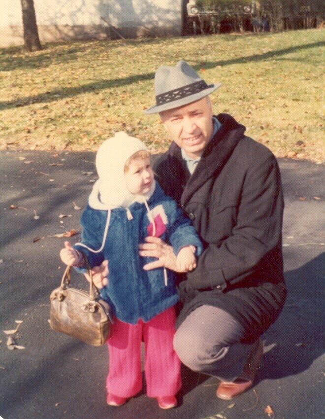 Dad and I circa 1972.
