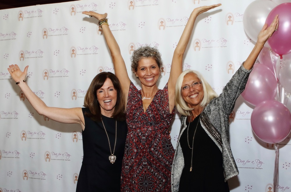 Chiara D'Agostino pictured with Diva founders Peggy Matzen and Debbie Sestokas