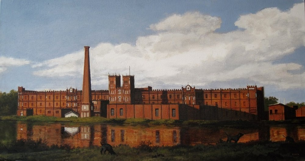 Monument and Cotton Mill