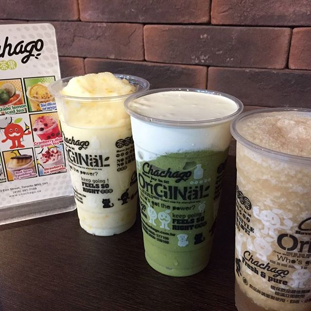 Chachago one year anniversary  on Oct 2 #bubbletea #chachagotoronto #anniversary #downtowntoronto #drinks #waffles