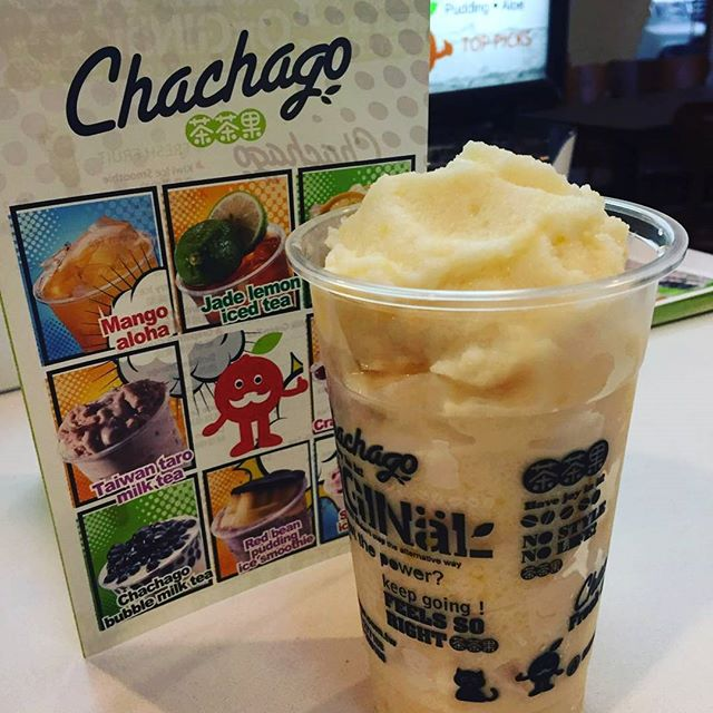 New Jackfruit Milk Frost!! #bubbletea #chachagotoronto #downtowntoronto #jackfruit #freshfruits