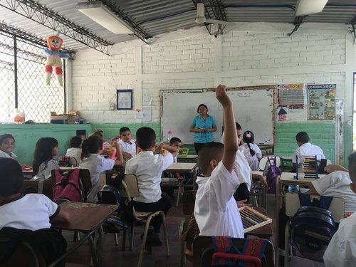 Magdalena teaches math to elementary students and English to junior high and high school students. Our team is equipping her through conferences and a publication in Spanish with practical tools to better serve students and their families.  (Photo and caption via Global Outreach Developments International.)