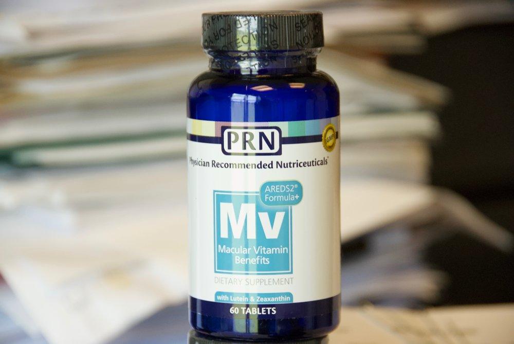 Macular Vitamins with Lutein & Zeaxanthin