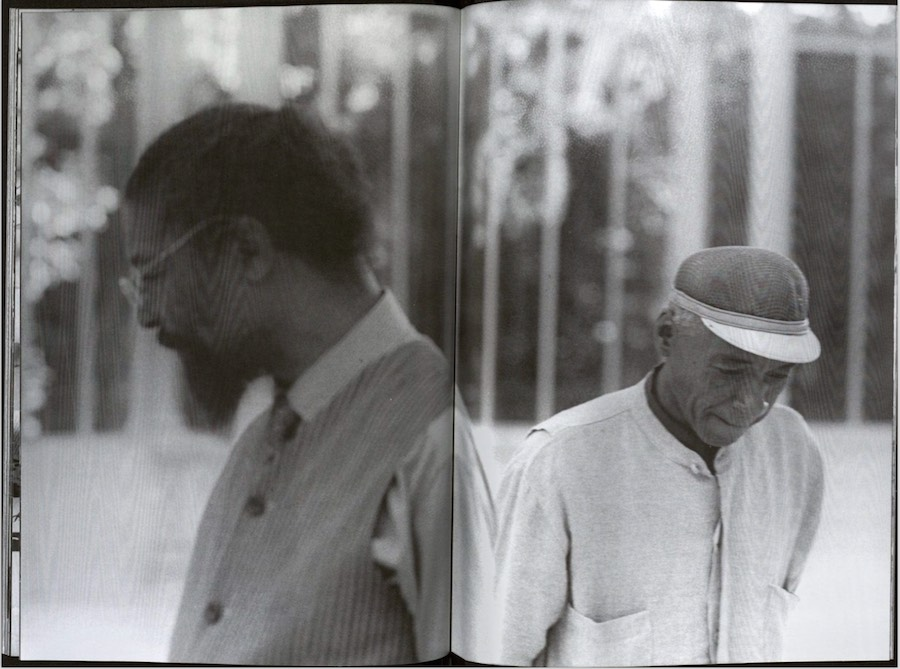 Butch Morris & David Hammons, Fax Festival, Madrid, 2000