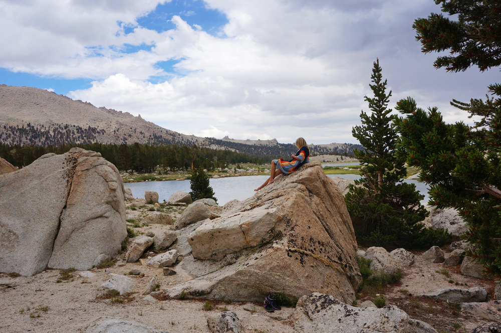 Cotton Wood Lakes JMT