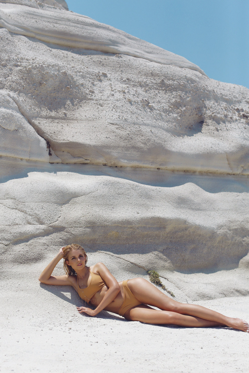 Tracy Kristine by Naomi Christie in Milos