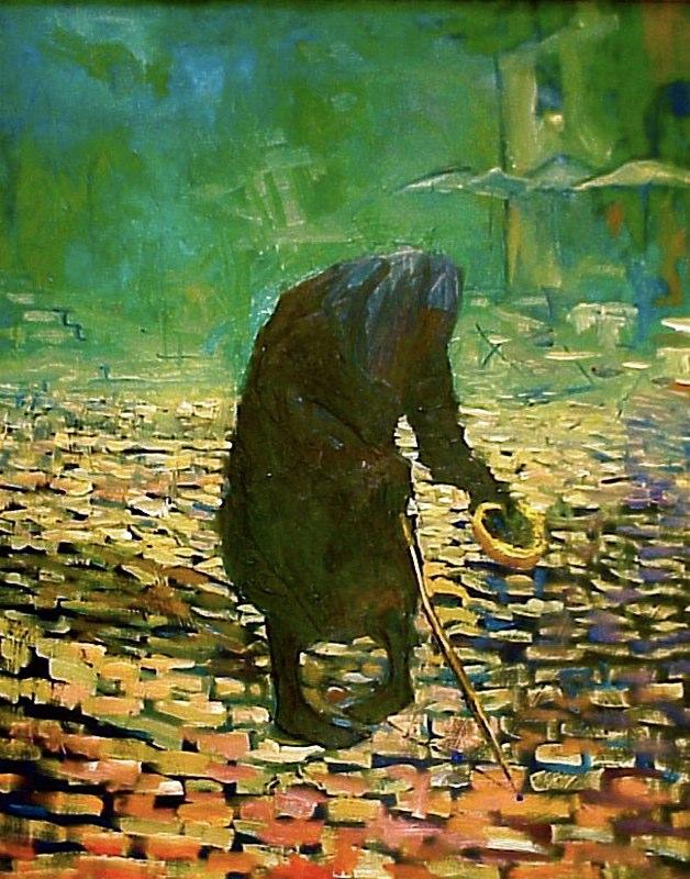 Leper in Rome