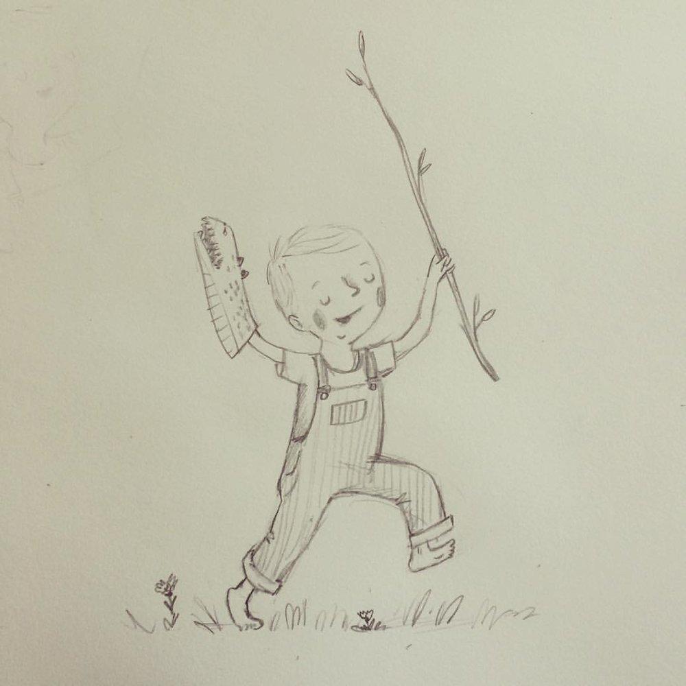 Calvin, age 2 1/2