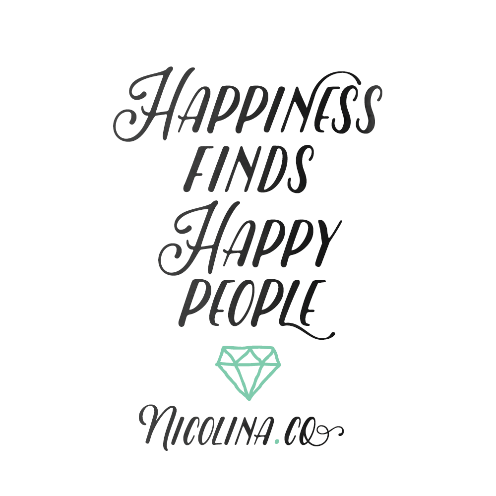 Happiness Finds Happy People