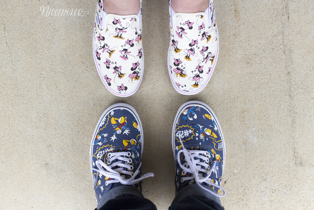 His and Hers Disney Vans