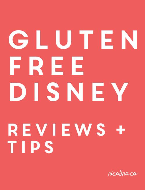 Gluten Free Disney