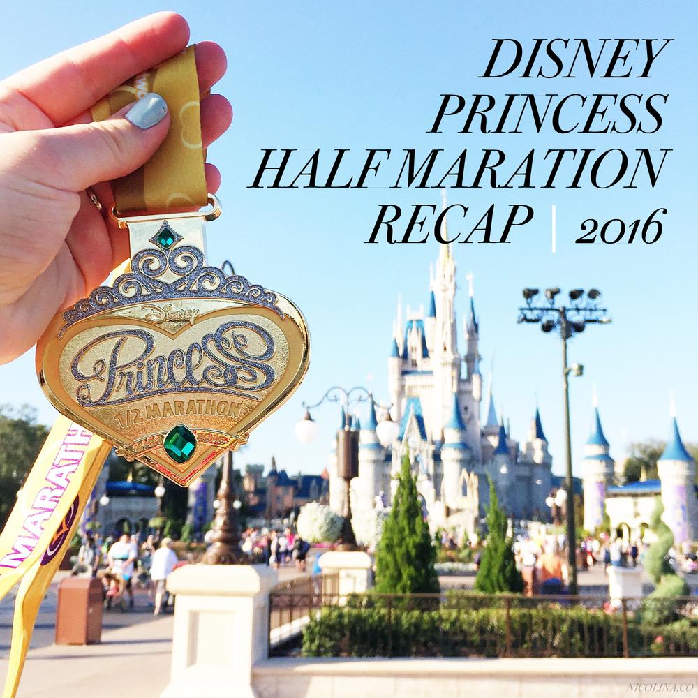 Disney Princess Half Marathon Recap 2016