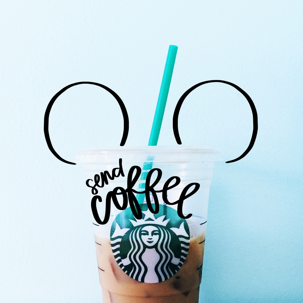 Send Coffee Mickey! by nicolina.co, for personal use only