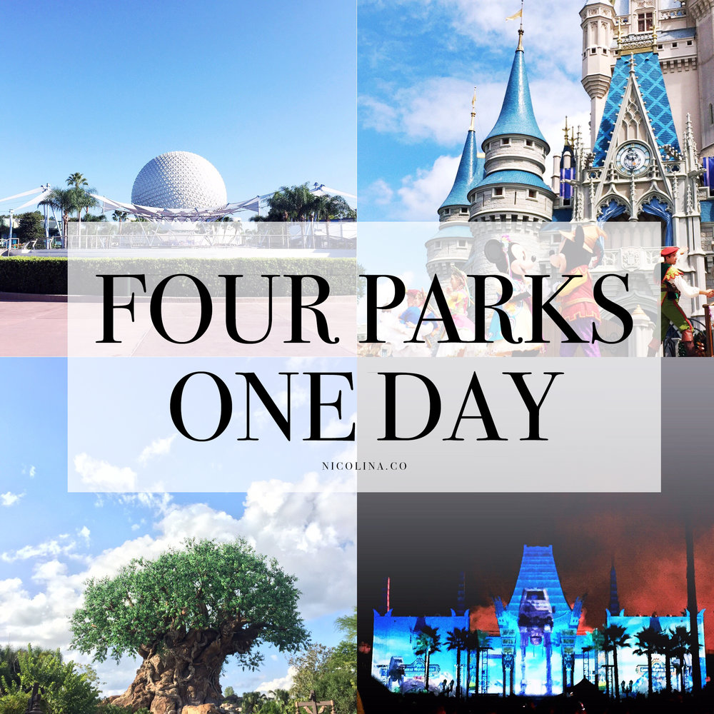 4 parks 1 day - disney bucket list — florida local & theme park girl