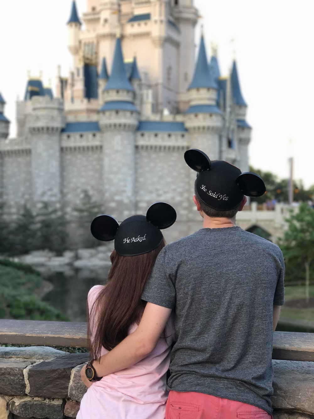 Engaged at Walt Disney World