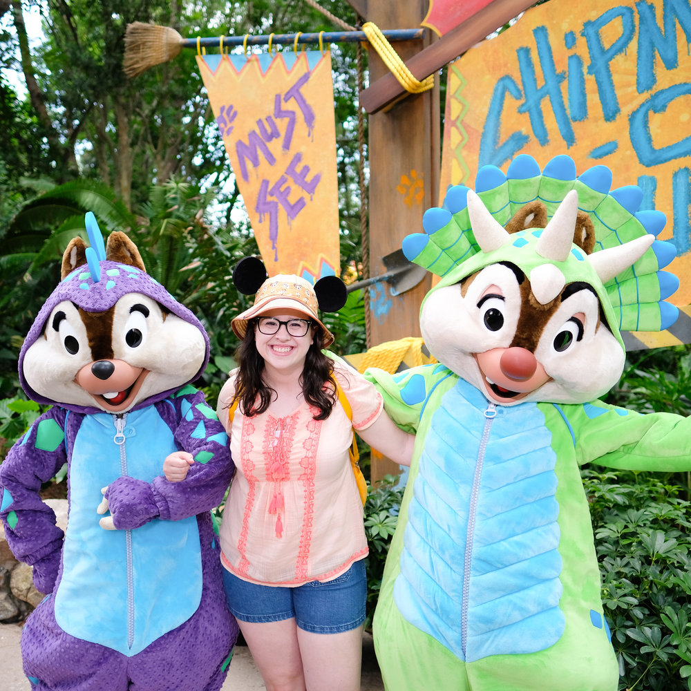 Chip and Dale Meet and Greet Animal Kingdom