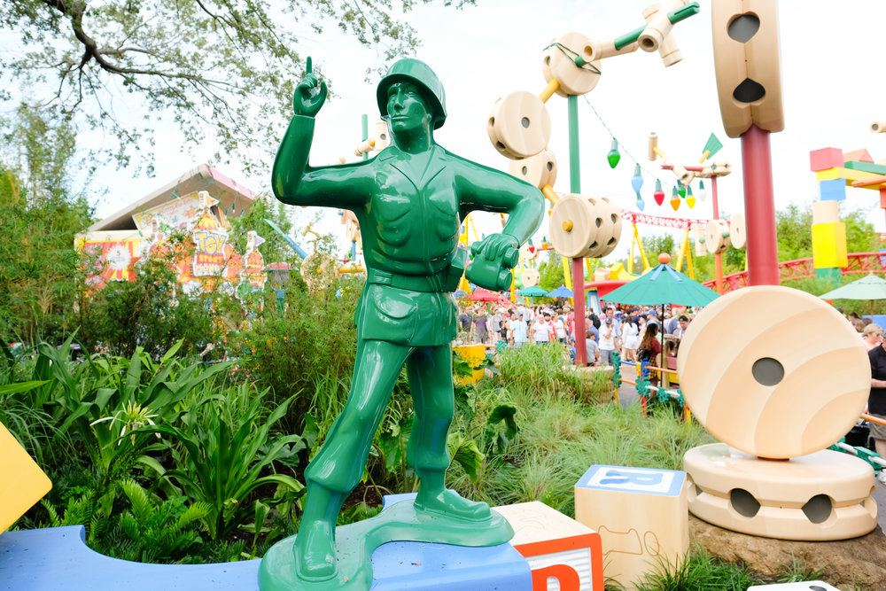 Opening Day at Toy Story Land