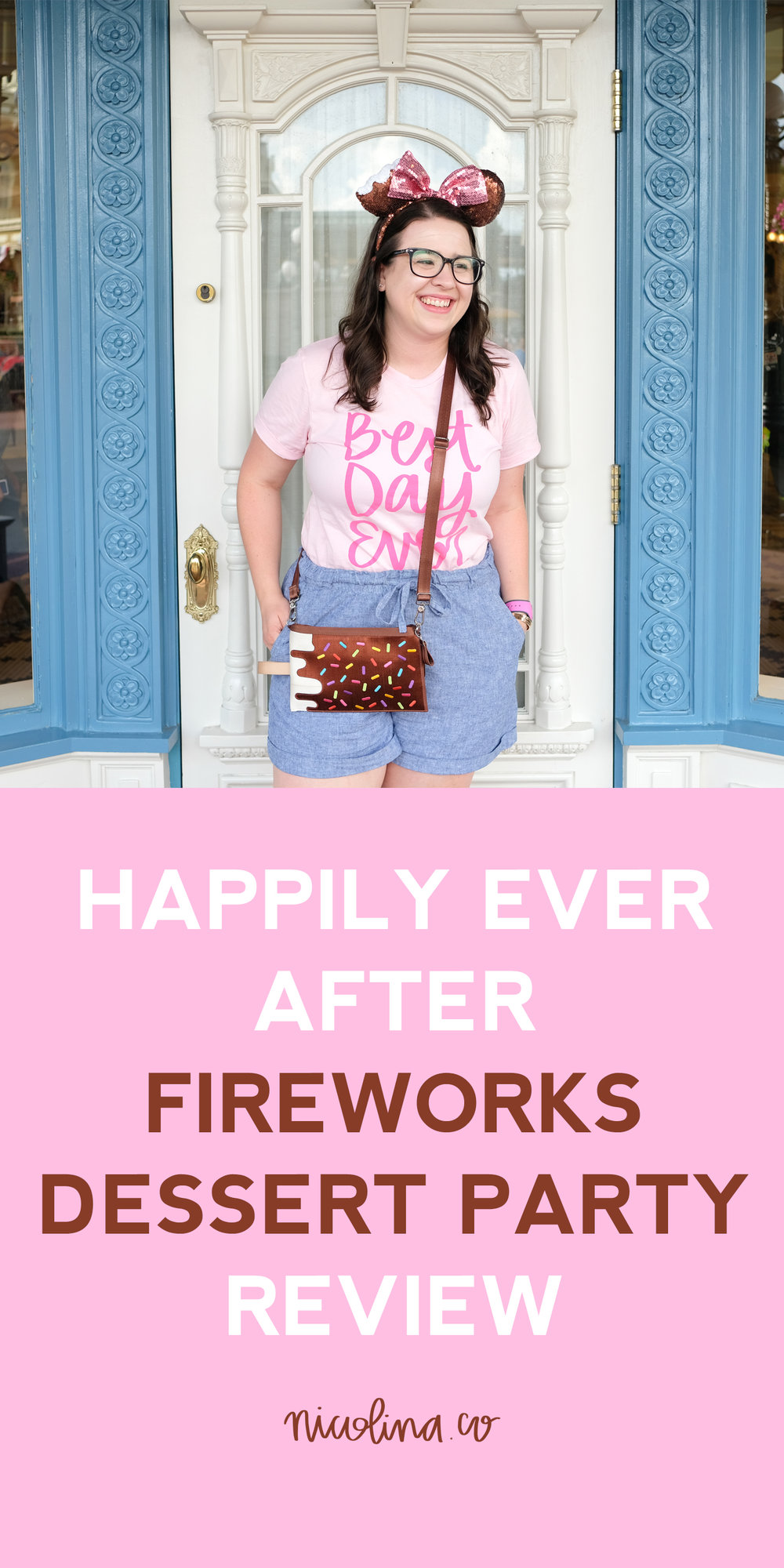 Happily Ever After Fireworks Dessert Party Reveiw