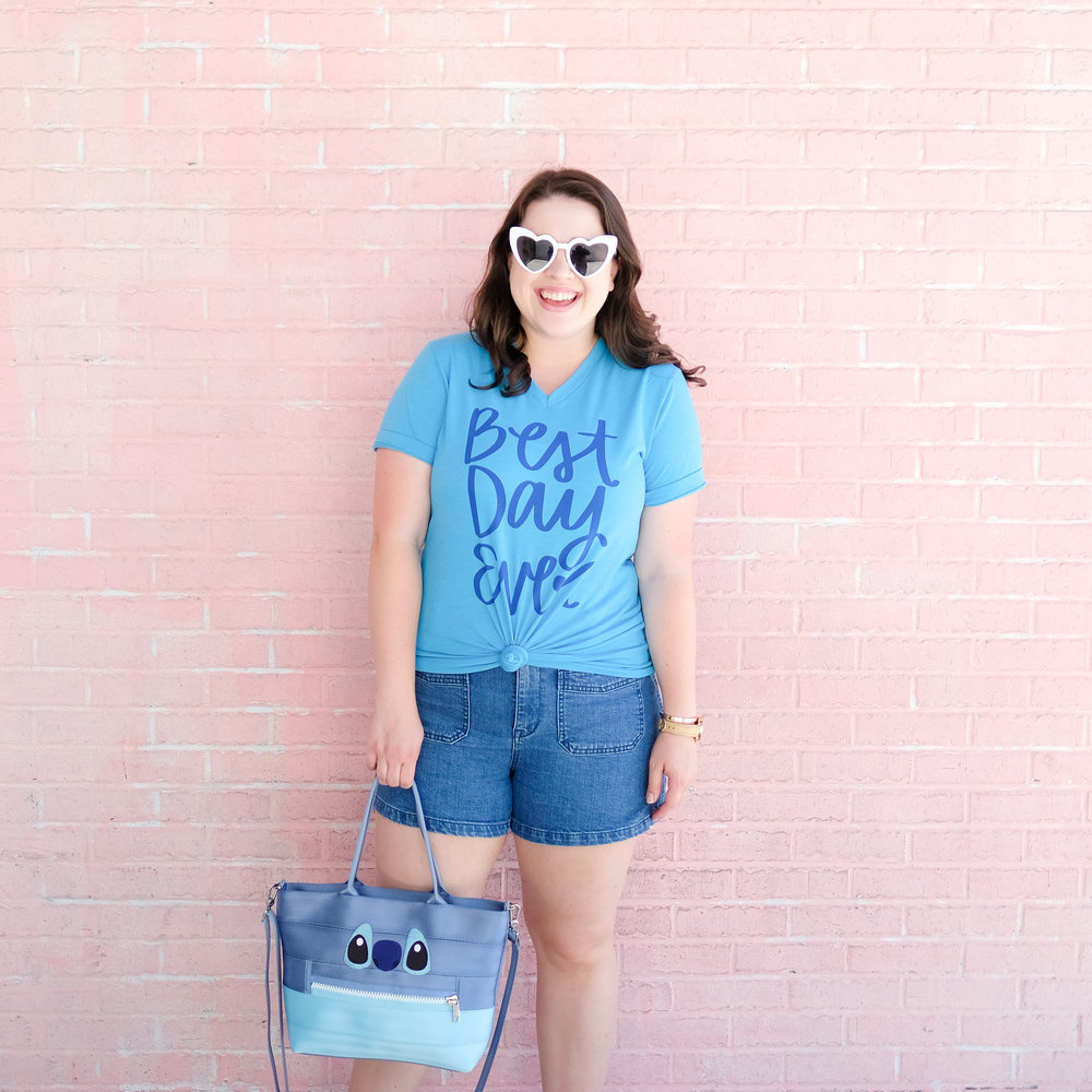 Happily Ever Tees - In 2014 Cameron and I launched our lifestyle brand, Happily Ever Tees.This brand is filled with fun tees and curated goods that bring the magic of the parks we love to your home and wardrobe. Every tee is designed by Cameron and I and most feature a hand lettered or drawn element or two.