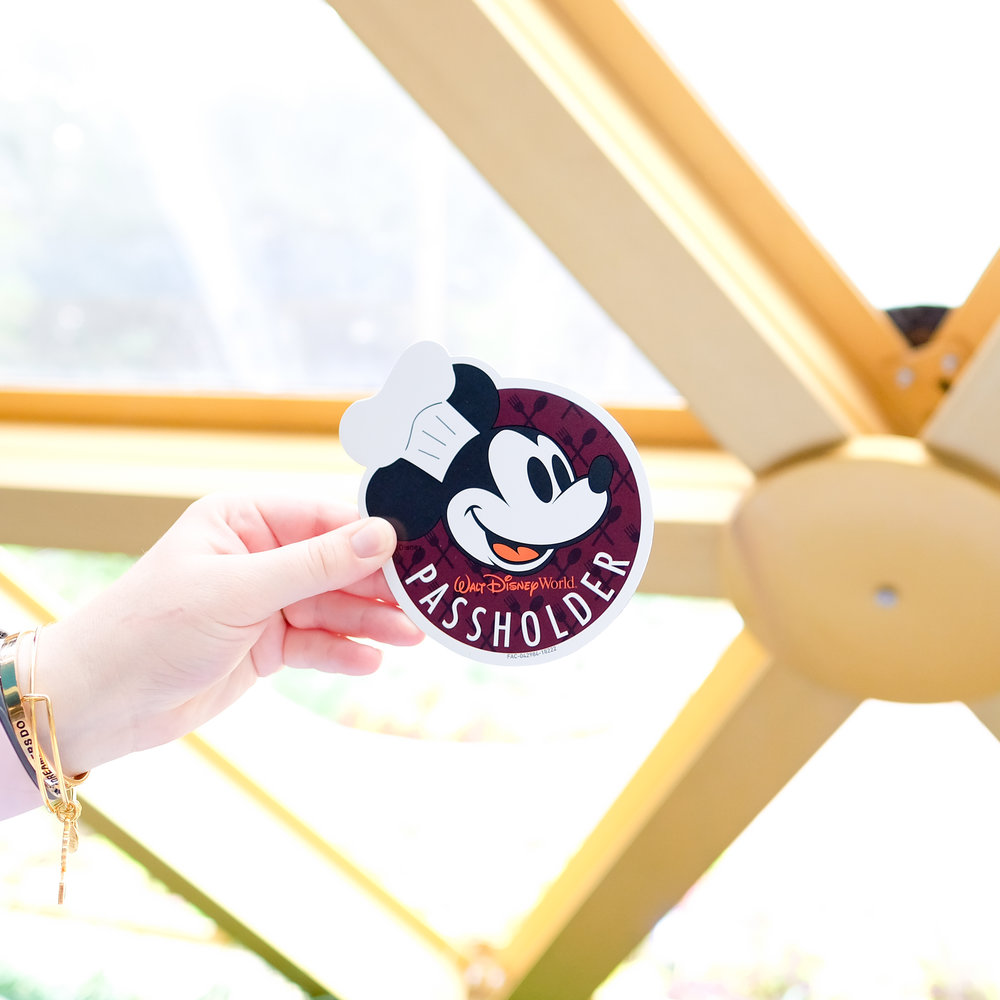 Passholder Magnet Food and Wine festival