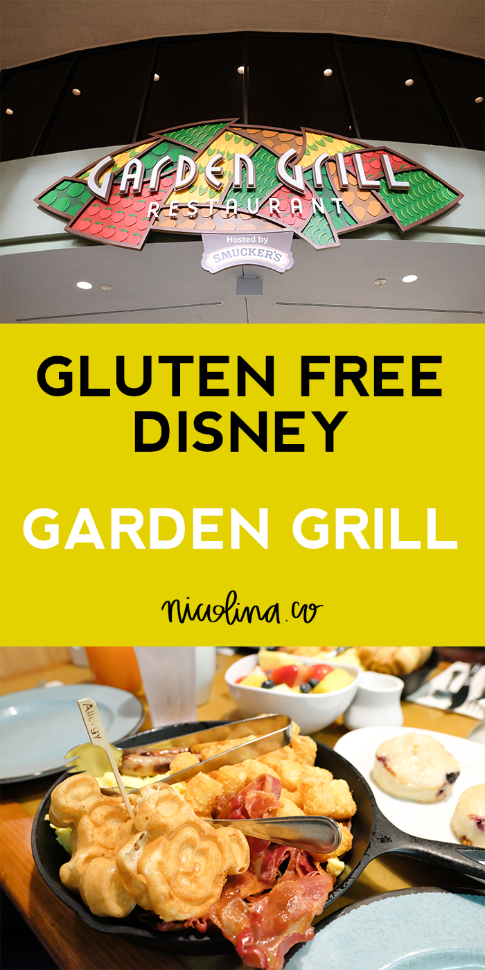 Gluten Free at Disney - Garden Grill
