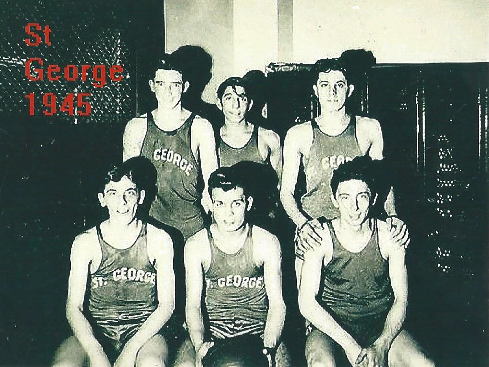 St. George Basketball Team - 1945