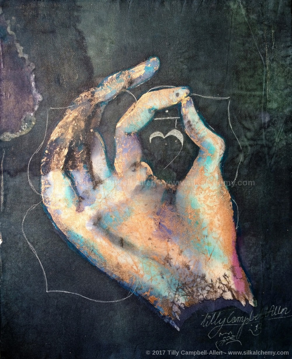 Muladhara Root mudra by Tilly Campbell