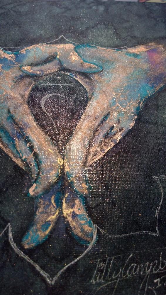 Manipura Solar Plexus, Mudra Detail