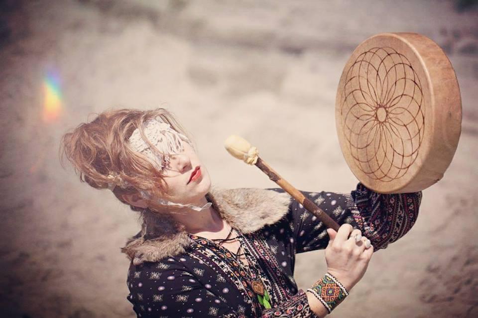 Kate Ryan, Shamaness and Sound Healer