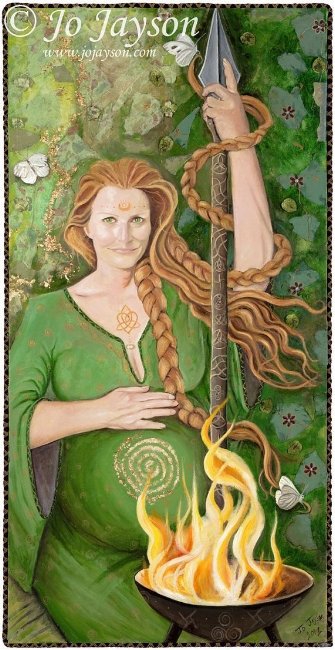 BRIGHID MOTHER GODDESS OF IRELAND