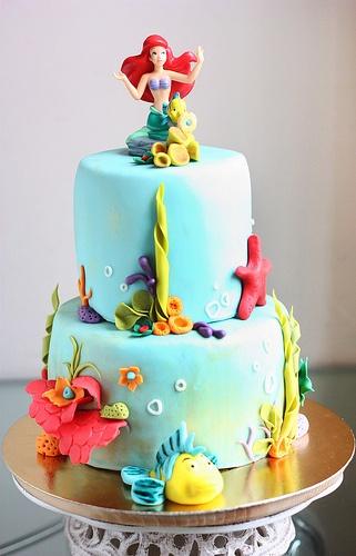 Ariel Cake