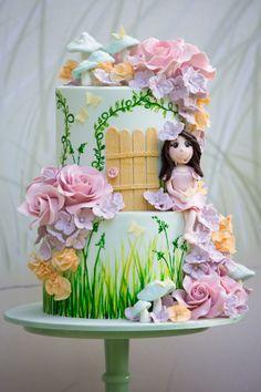 Fairy Door Cake