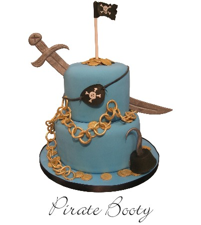 Pirate Booty Cake