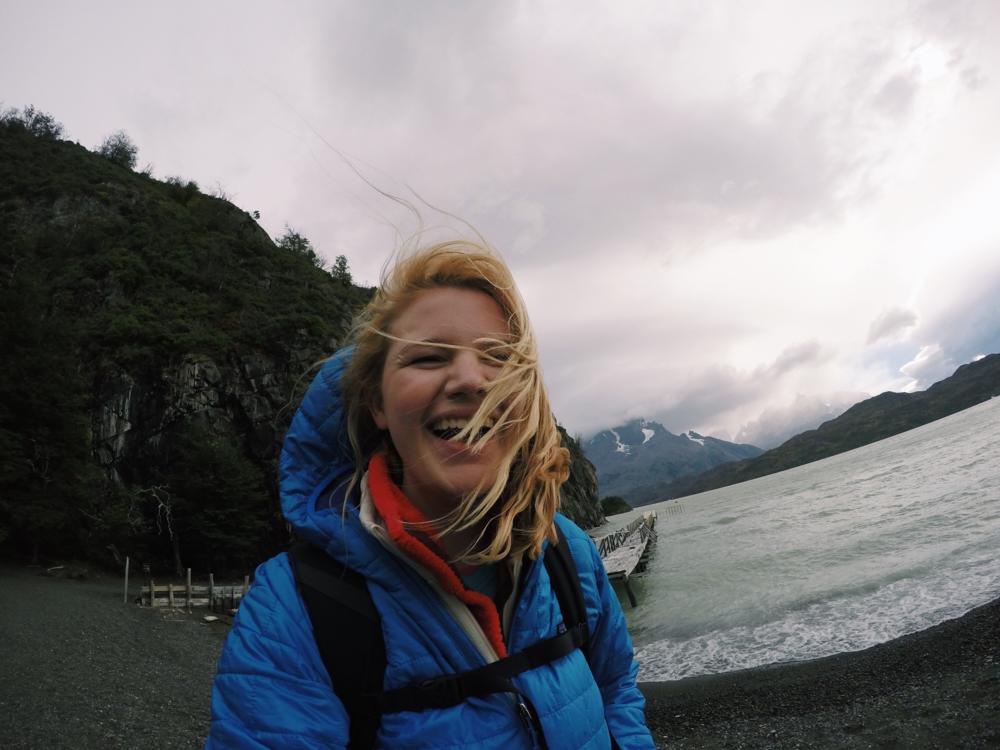 Taken at the Largo Grey Glacier in Torres Del Paine National Park