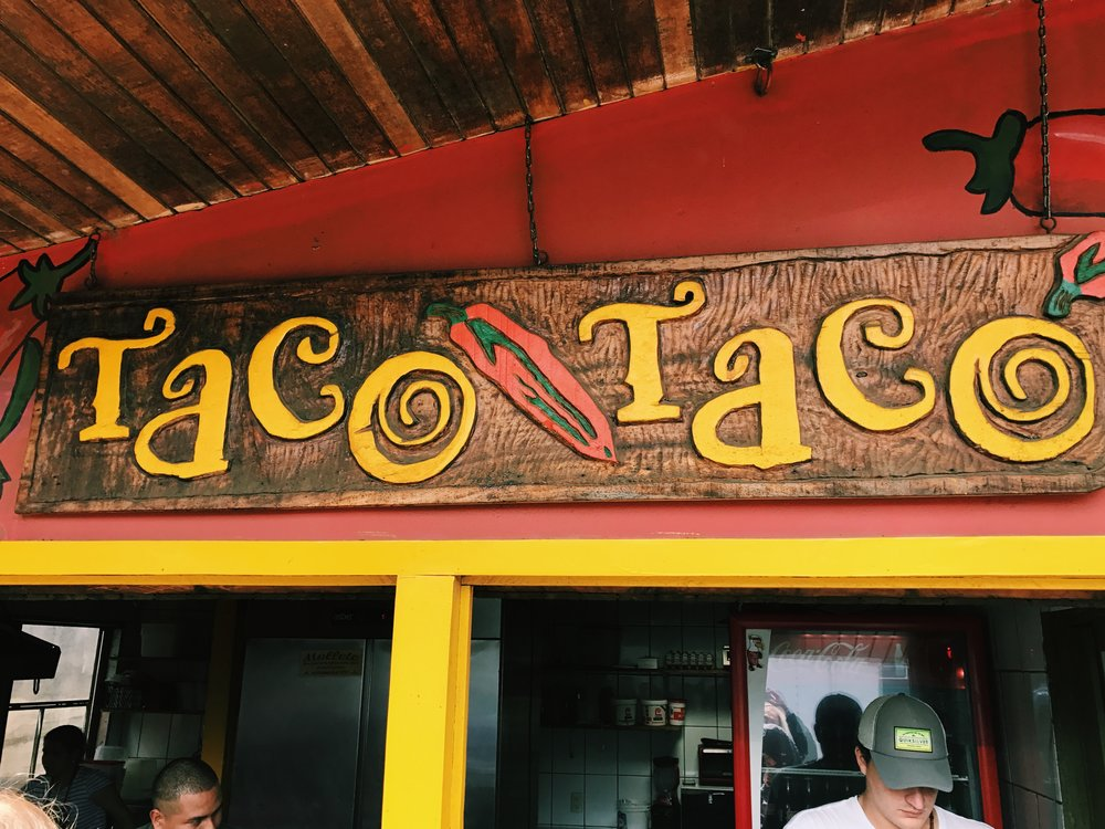 Taco Taco in Monteverde, Costa Rica